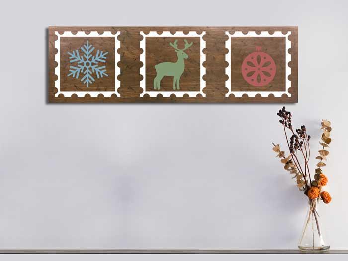 Christmas Stamps,11×36