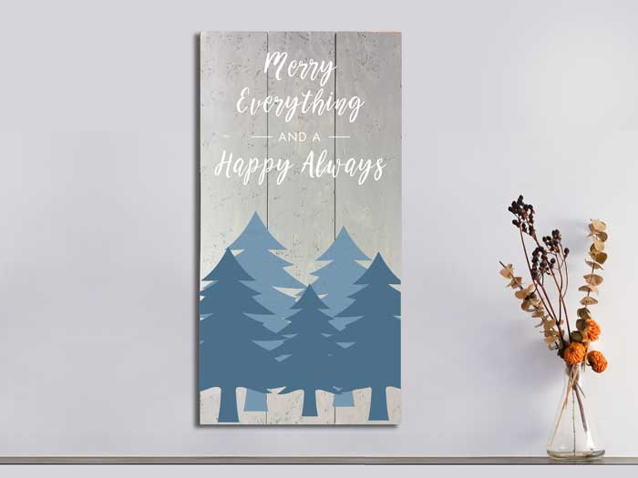 Merry Everything, 16×32