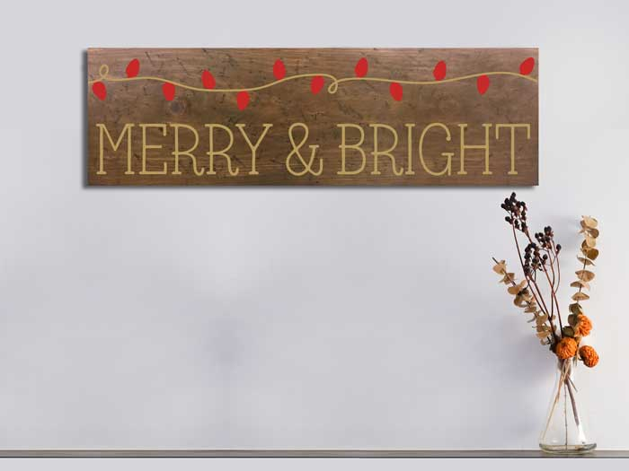 Merry and Bright,11×36