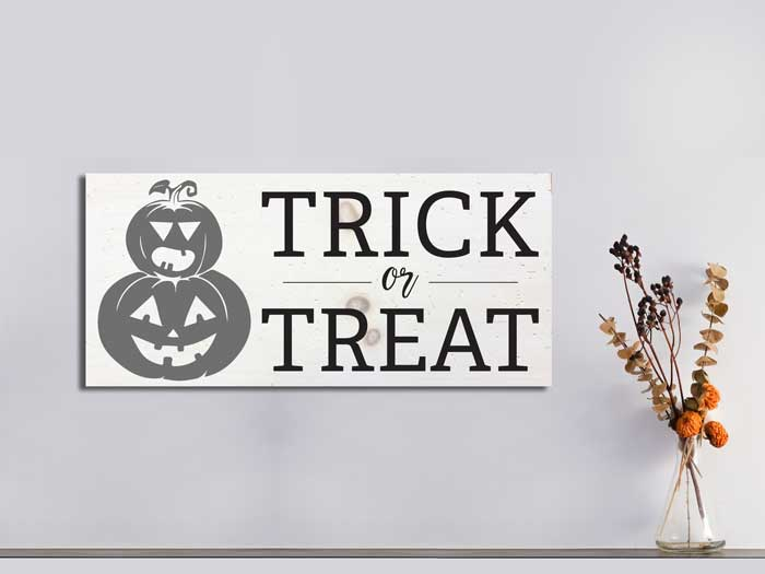 Trick or Treat, 11×24