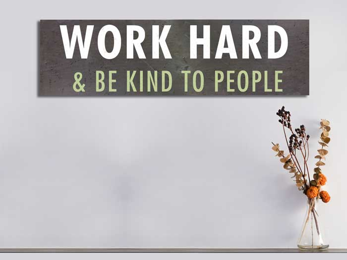 Work Hard,11×38