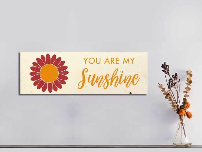 You are my Sunshine, 11×32