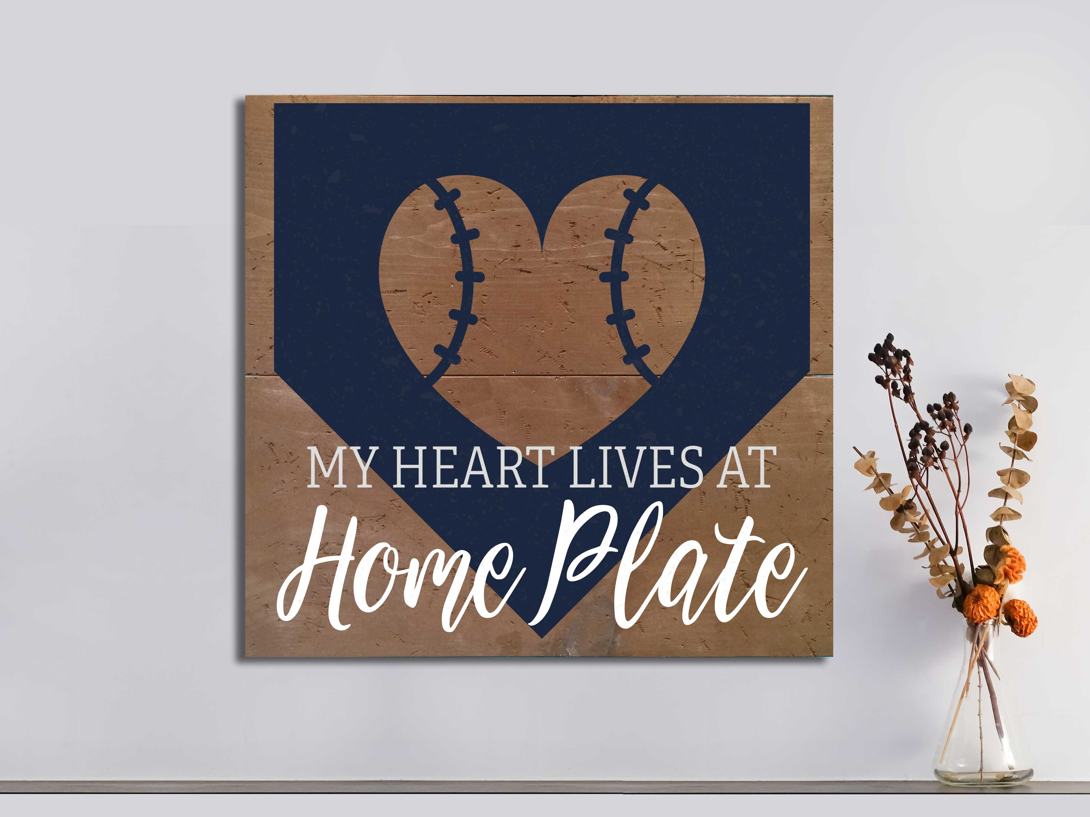 Home Plate 22×24