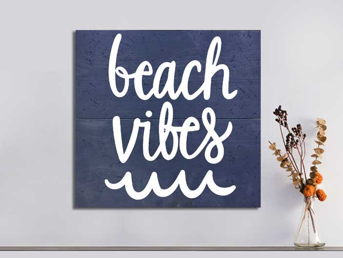 Beach Vibes 22×24