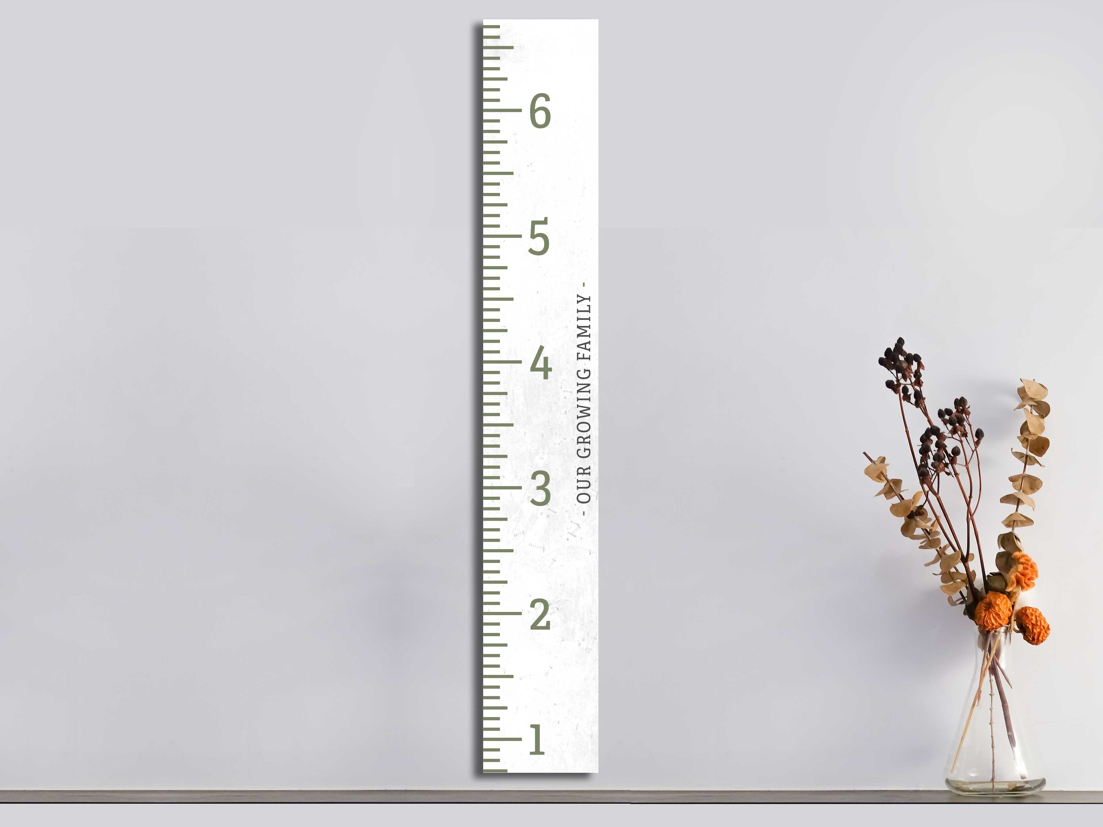 Our Growing Family Ruler 11×72