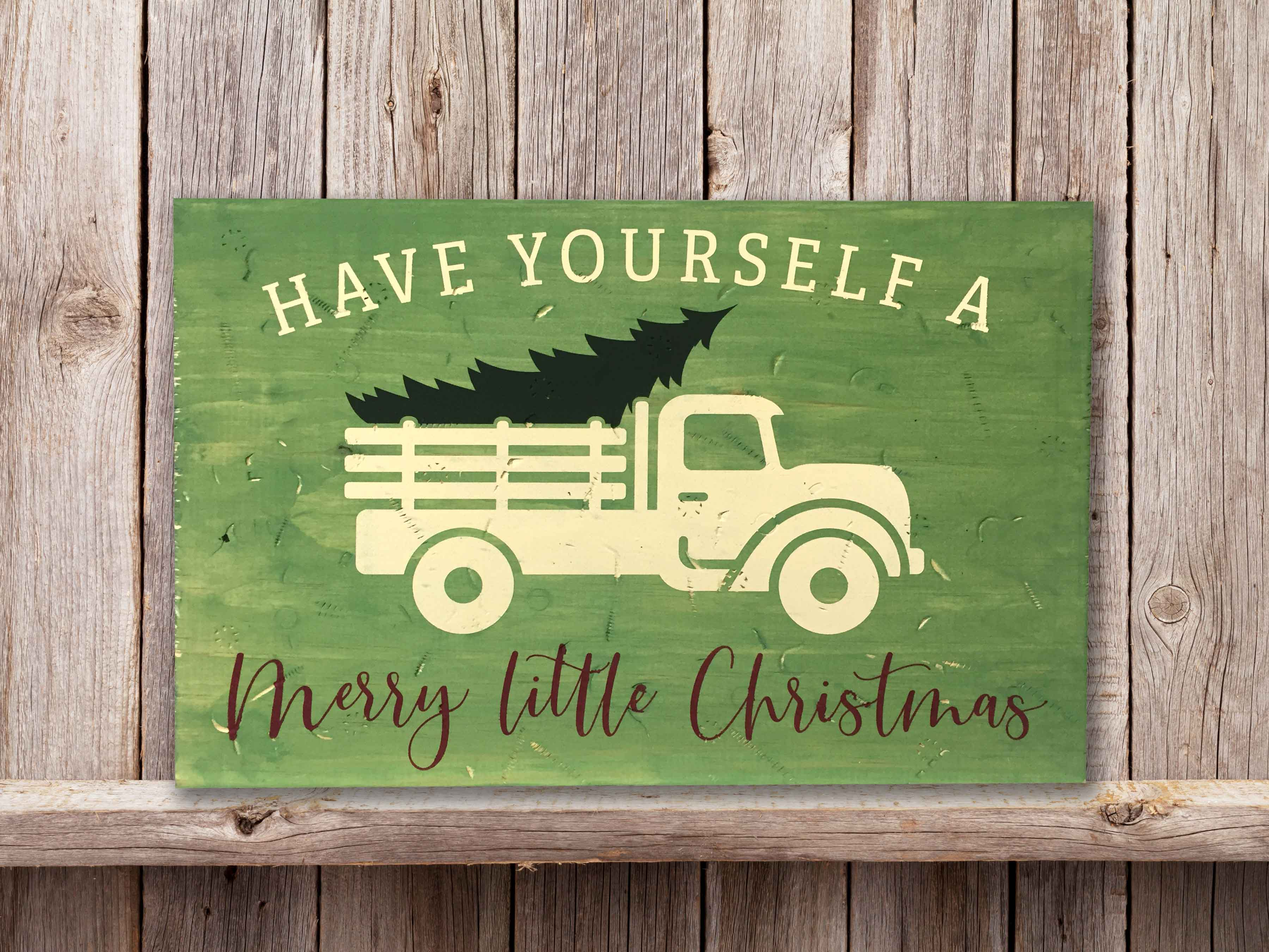 Christmas Tree Truck, 11×17