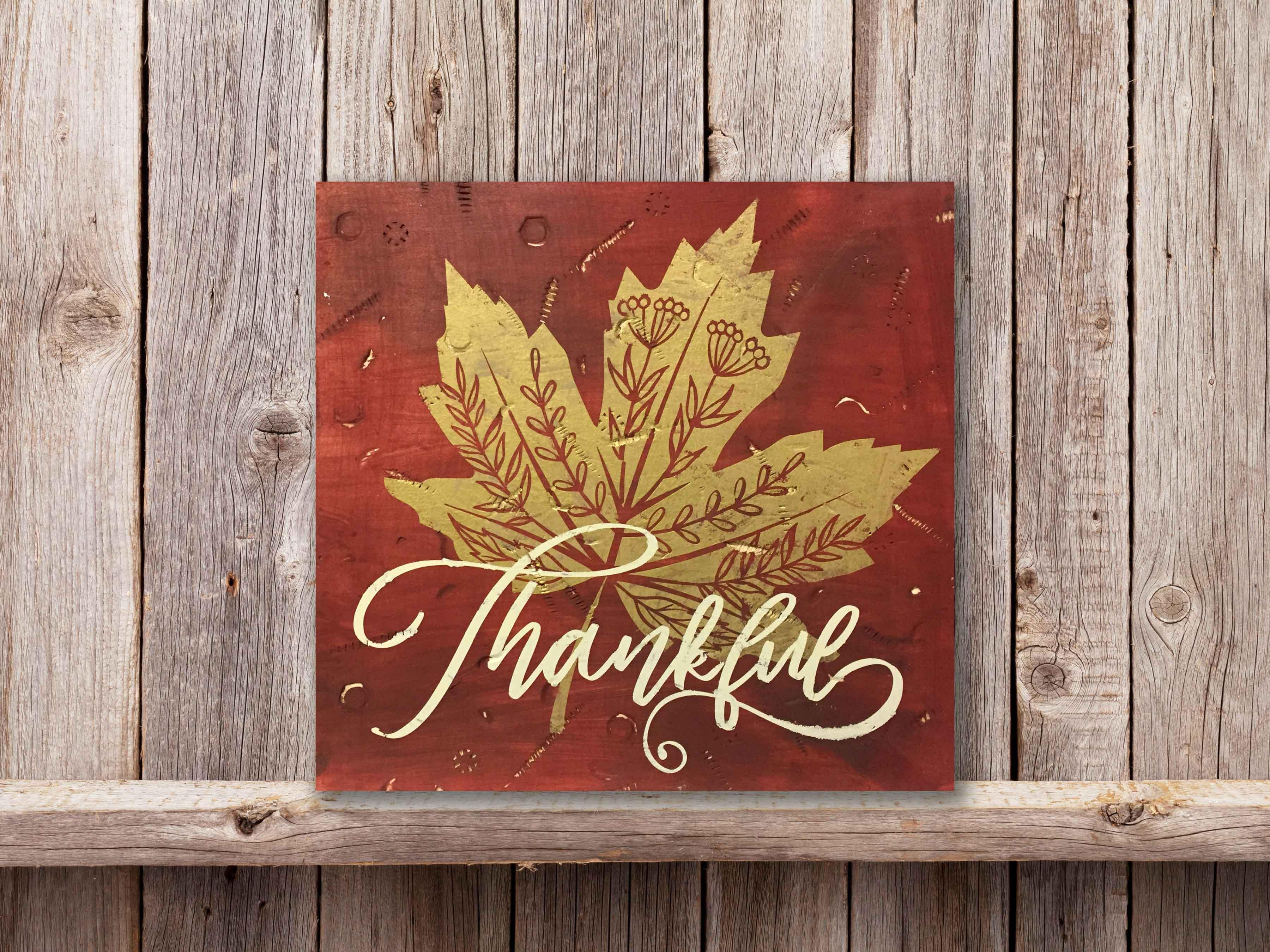 Thankful, 12×12
