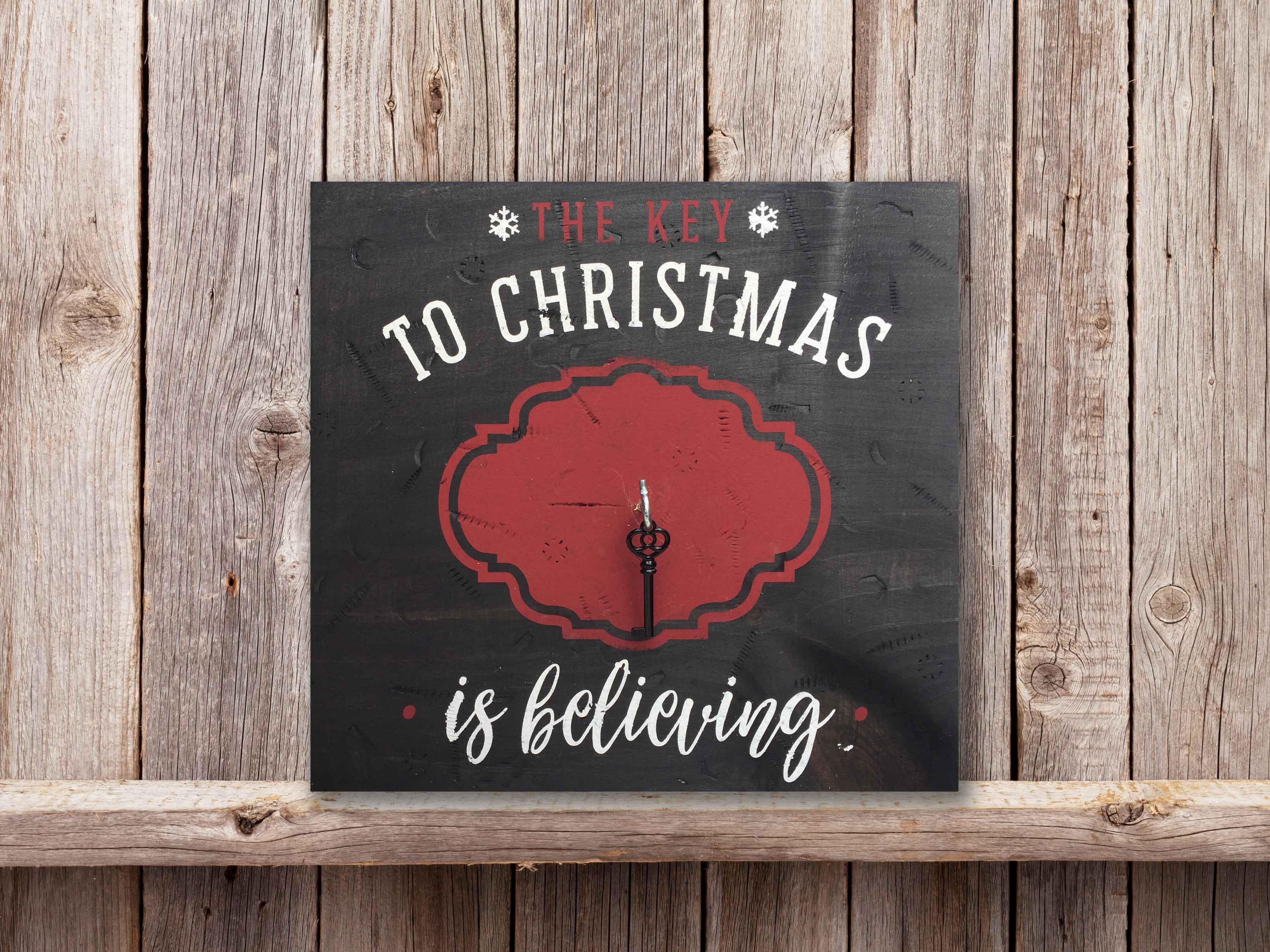 The Key to Christmas, 12×12