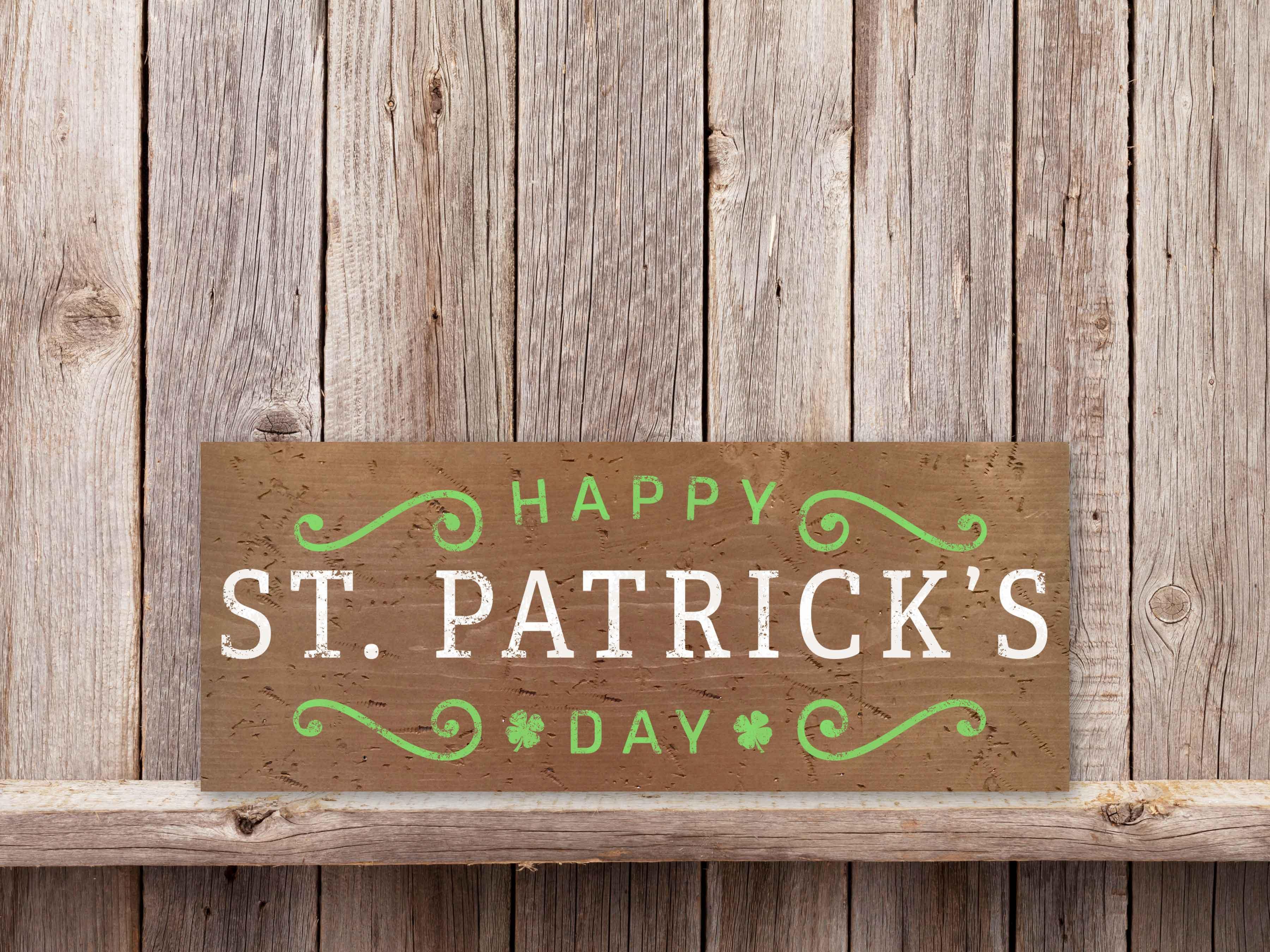 Happy St Patricks Day 9×24