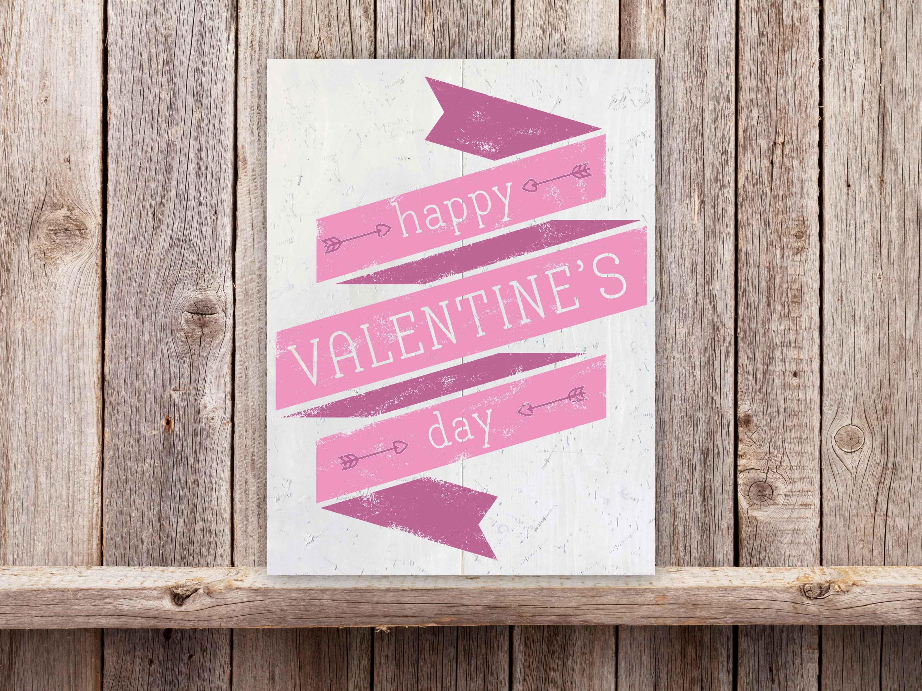 Happy Valentines Day 18×24