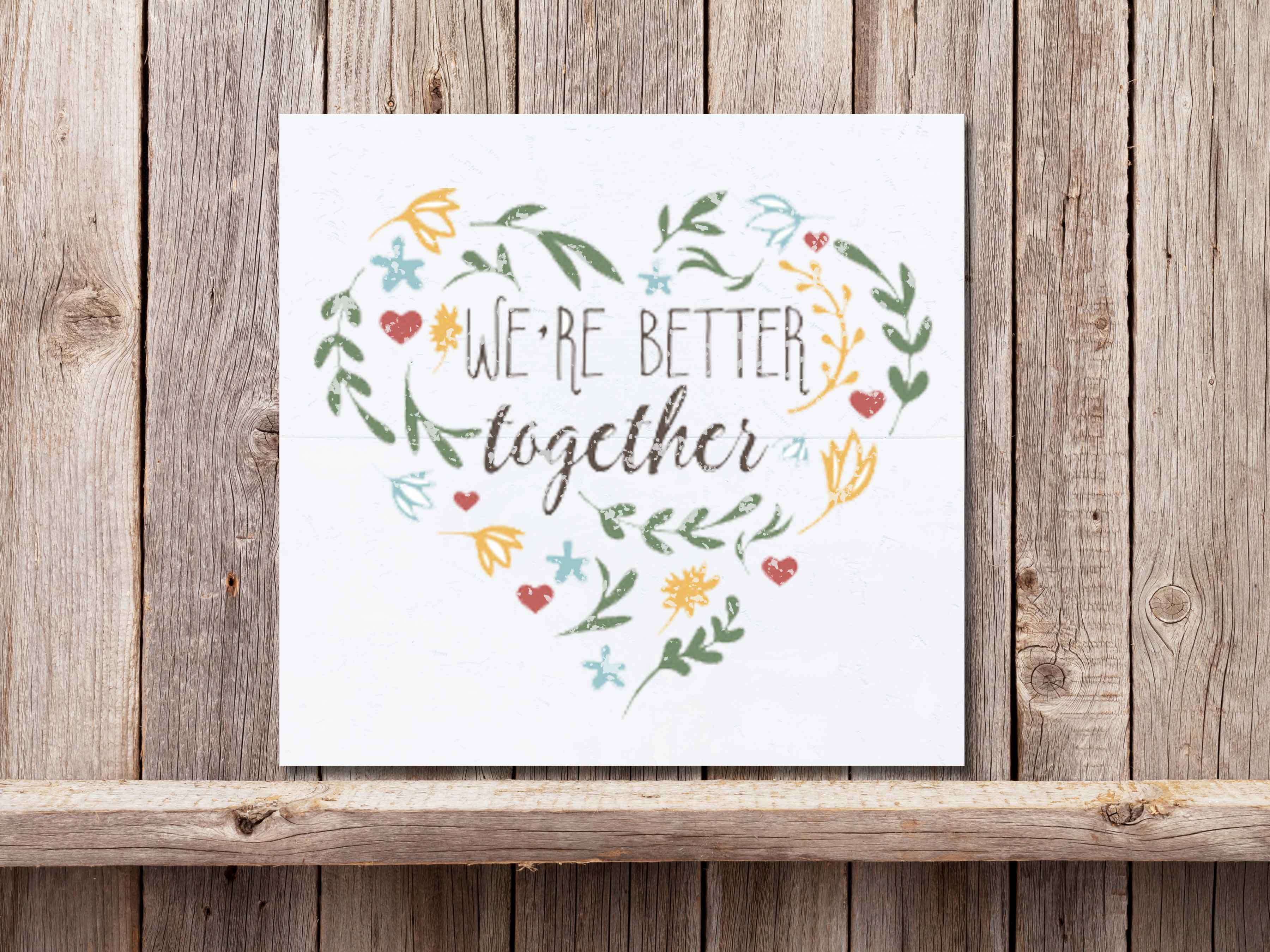Better Together 22×24