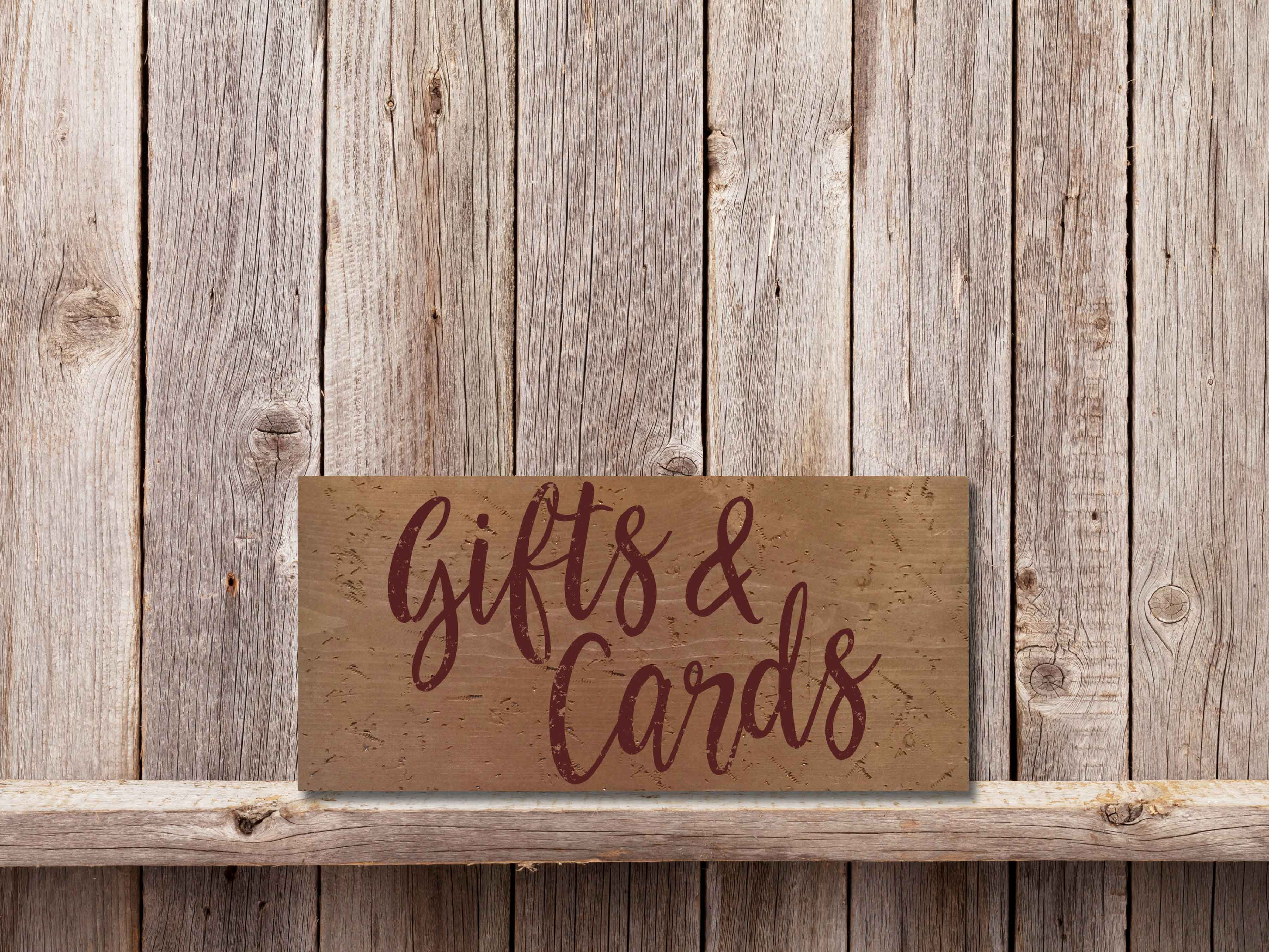 Gifts and Cards 11×17