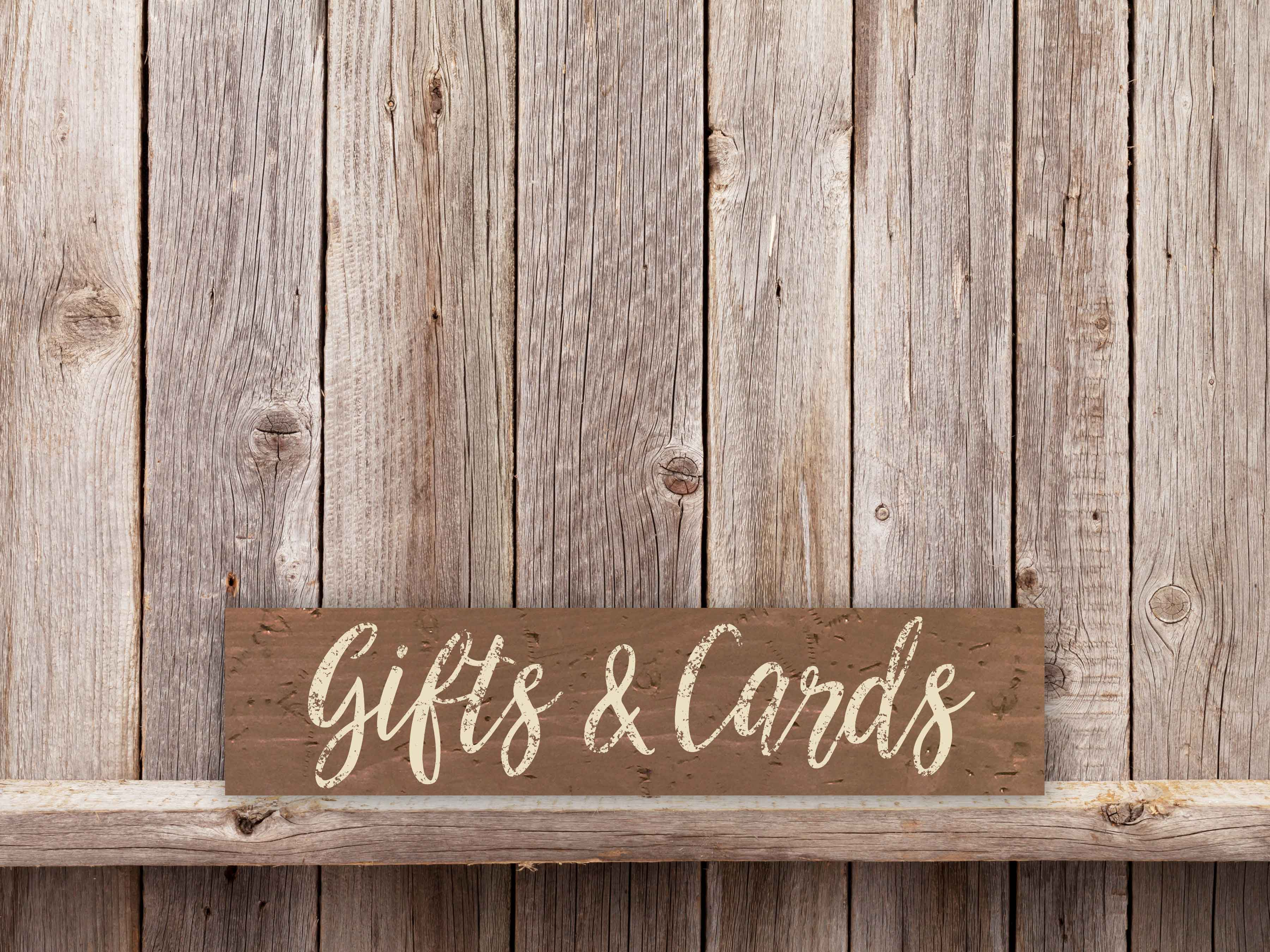 Gifts and Cards 5.5×24
