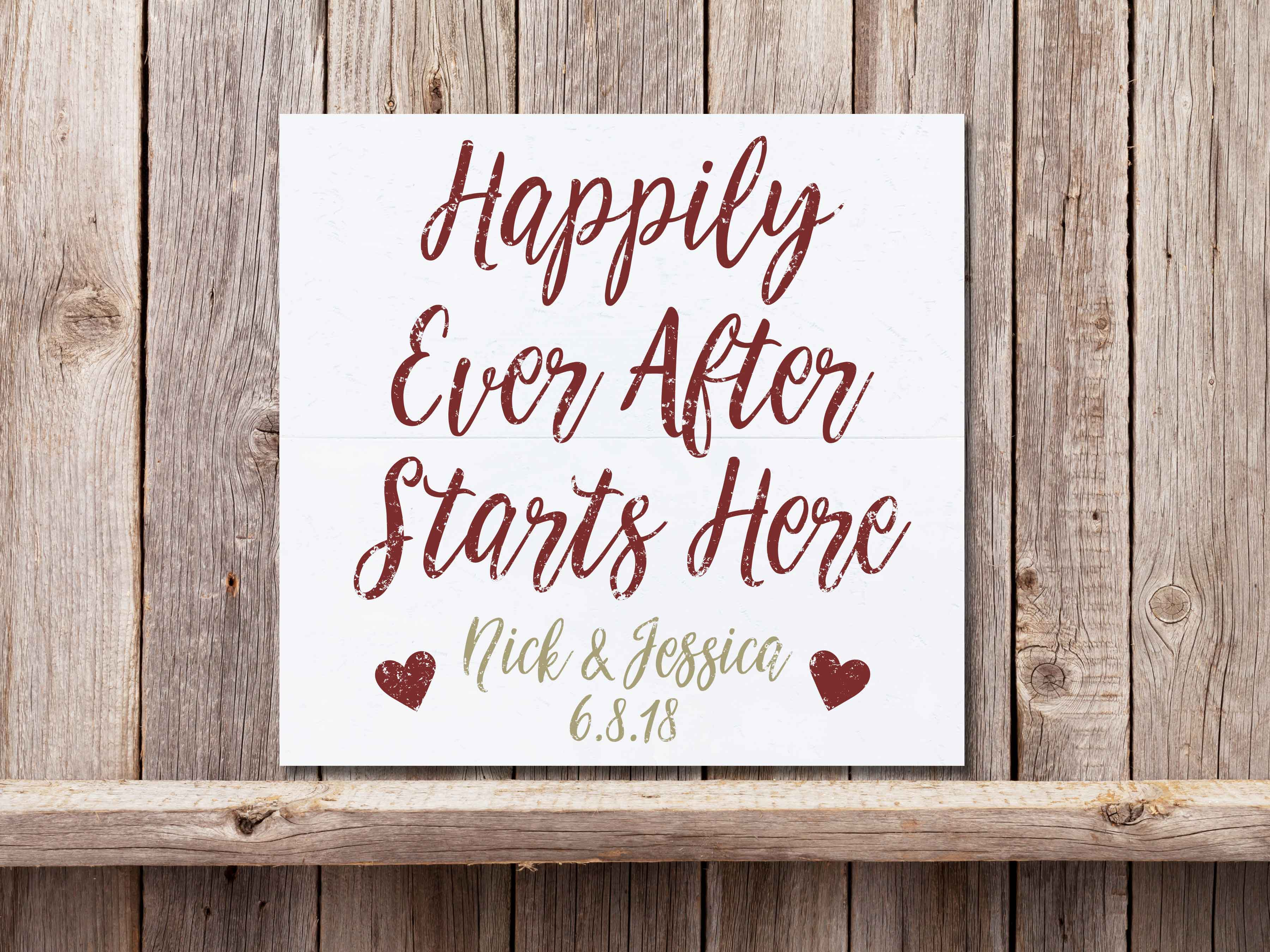 Happily Ever After 22×24