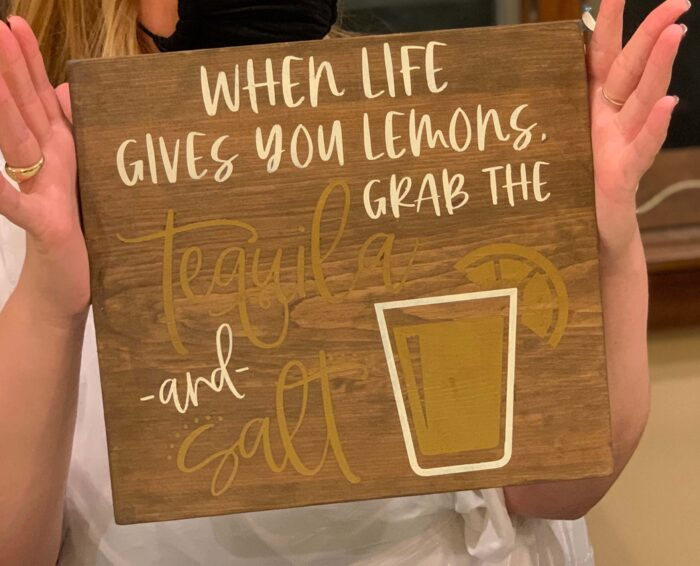 Life Gives Lemons 12×12