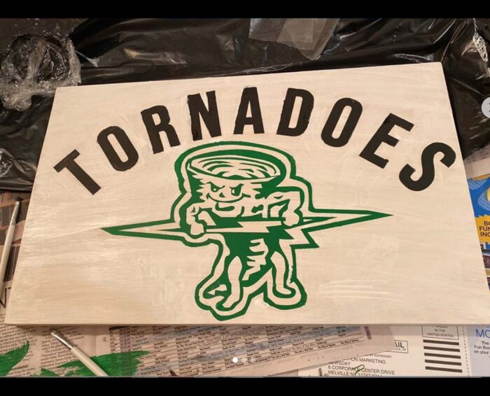 Tornadoes 12×18