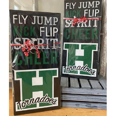 Harborfields Cheer Sign – 11×24