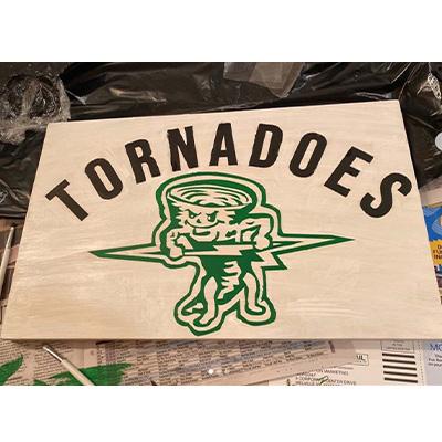 Harborfields Tornadoes - 11x18