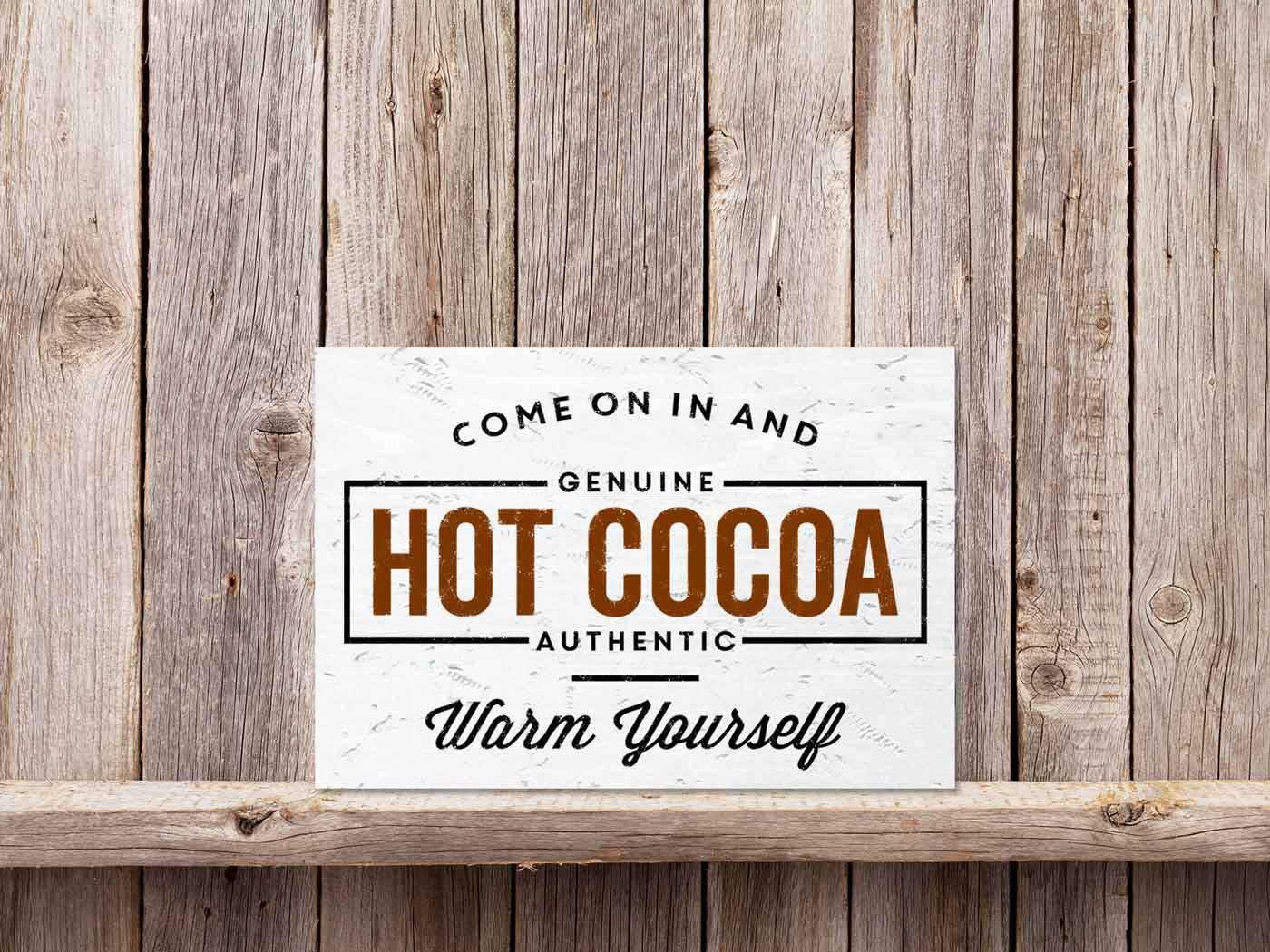 Hot Cocoa 11×17