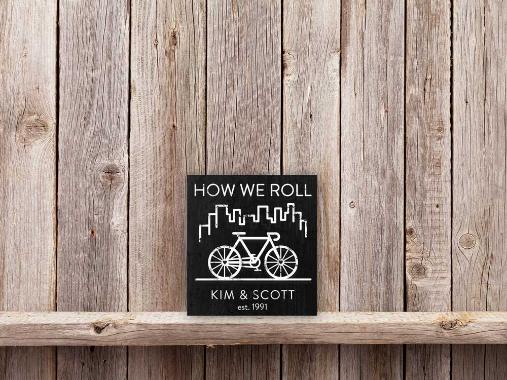 How We Roll Biking 11×12