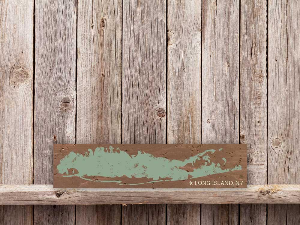 Long Island map 5.5×24