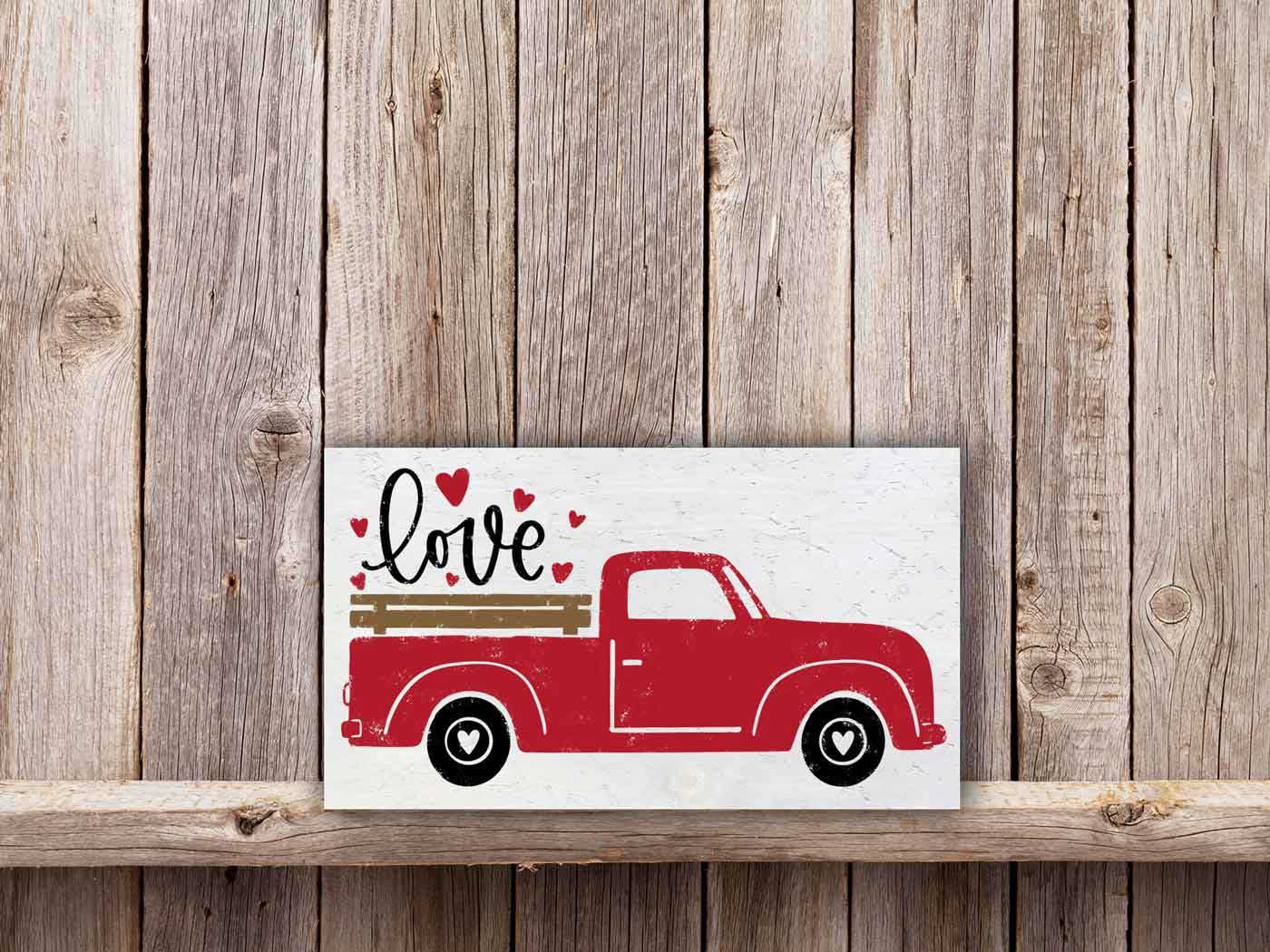 Love Truck 11×17