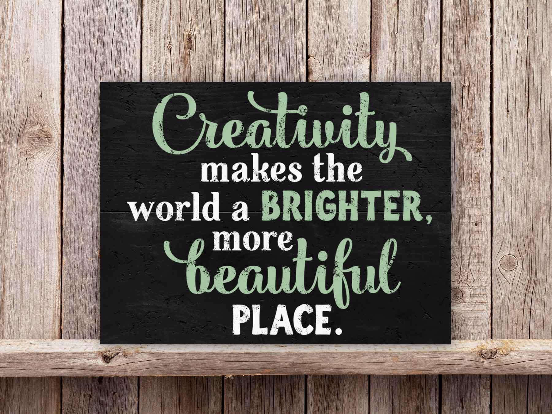 Creativity 22×24